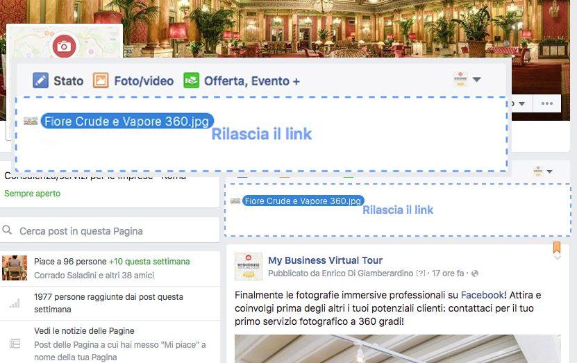 Come caricare foto 360 interattive su facebook